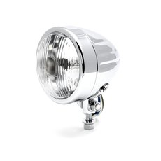 4 Headlight Grooved, Classic, Chrome