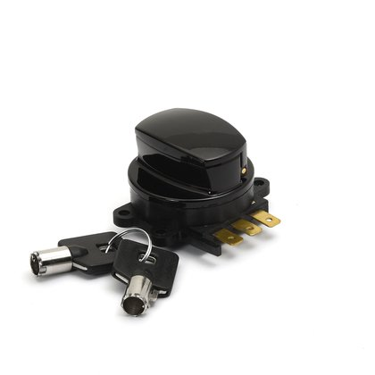 Fat Bob Ignition Switch Harley-Davidson  from 1996 with dash panel, black