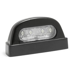 License Plate Light LED round black