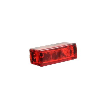 Micro-Rücklicht Rectangle Red 27 x 10 mm