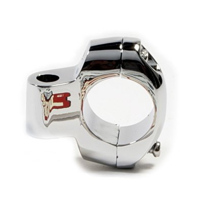 Rear View Mirror Clamp 1 chrome
