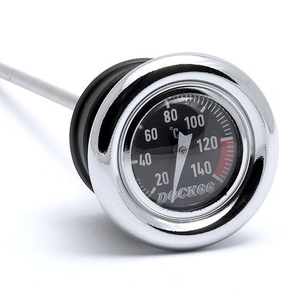 Oil Dipstick with Temperature Gauge Harley-Davidson Big Twin 70-84