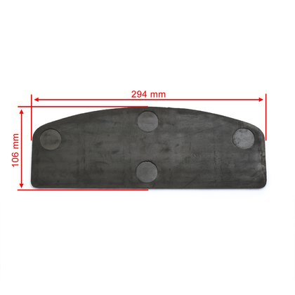Rubber Pads for Rectangular Floor Boards