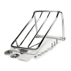 Luggage Rack Chrome Dyna Wide Glide 06-07 and Fat Bob