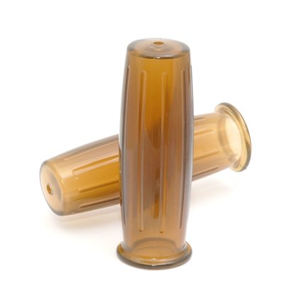 Bronson Style Griffe braun 22 mm für Chopper Grips brown