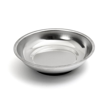 Magnetic parts dish stainless
