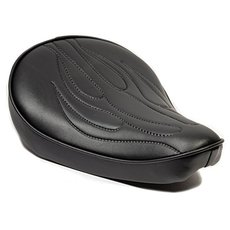 Solo Seat Small Black Flamed