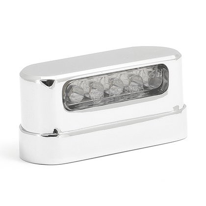 License Plate Light LED chrome