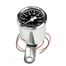 Mini-Speedometer 48 mm H-D K 1,4 Black Face