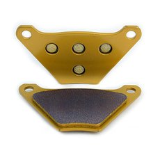 Brake Pads Harley 72-84 FL, rear, sintered