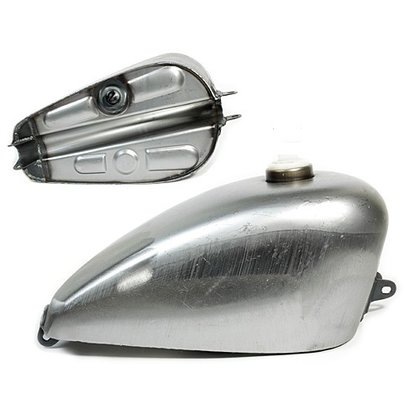 Tank Sportster Frisco Style 55-78 Low Tunnel 2,4 GAL, ca. 9L.