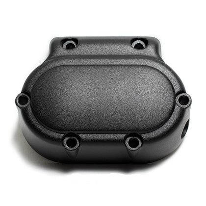 Transmission Top Cover Harley 5-speed smooth black