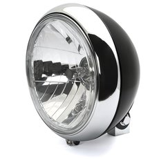 7 Headlight 88up Style clear lens black chrom
