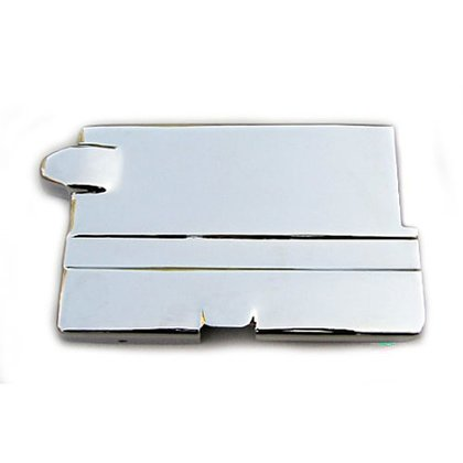Battery Top Cover Chrome - Harley-Davidson XL Sportster 67 - 78