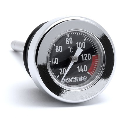 Oil Dipstick withTemperature Gauge for Harley-Davidson Softail from 2000 Dock66