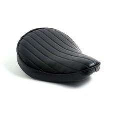 Solo Seat Small Black Tuck & Roll