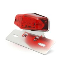 Lucas Style Taillight LED with License Plate Bracket